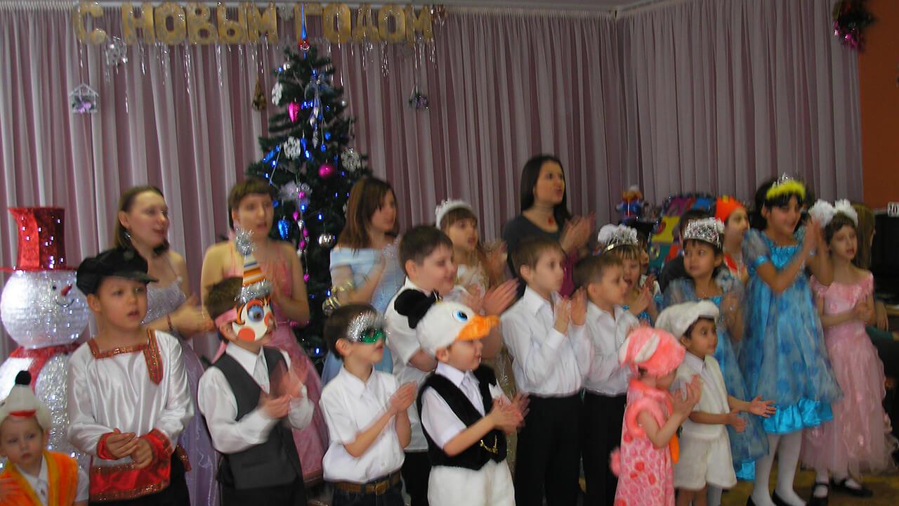 Новый год в областном социально-реабилитационном центре