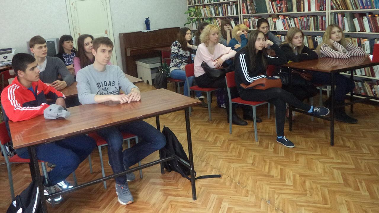 Заседание клуба «Молодой избиратель»