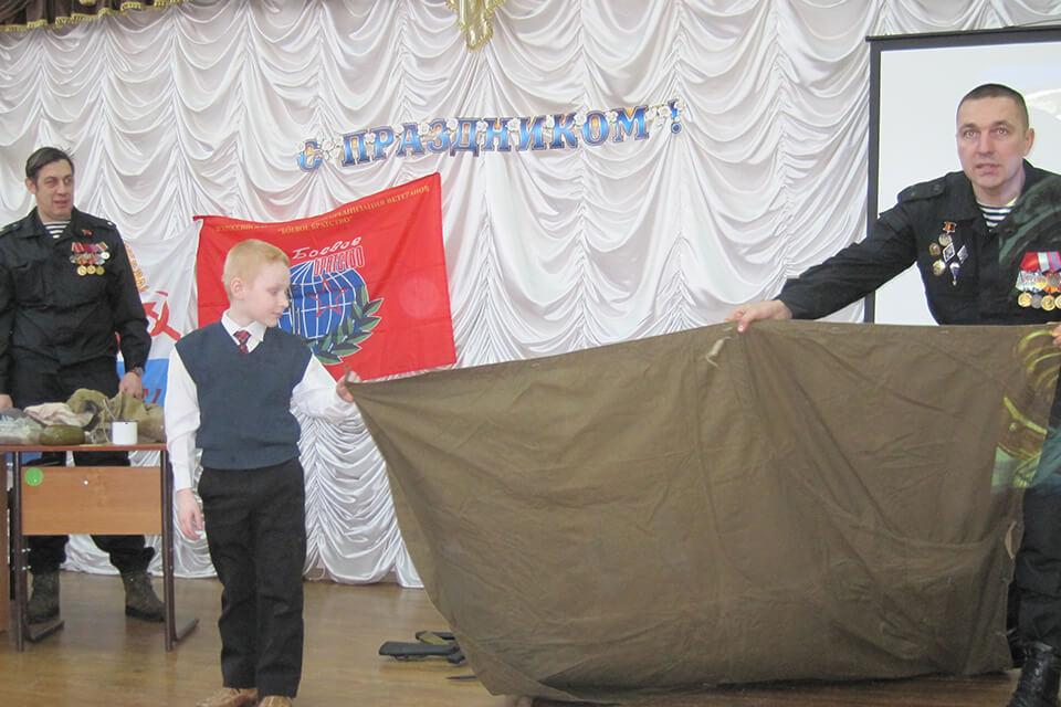 Литературно-музыкальный вечер «Я служу России»