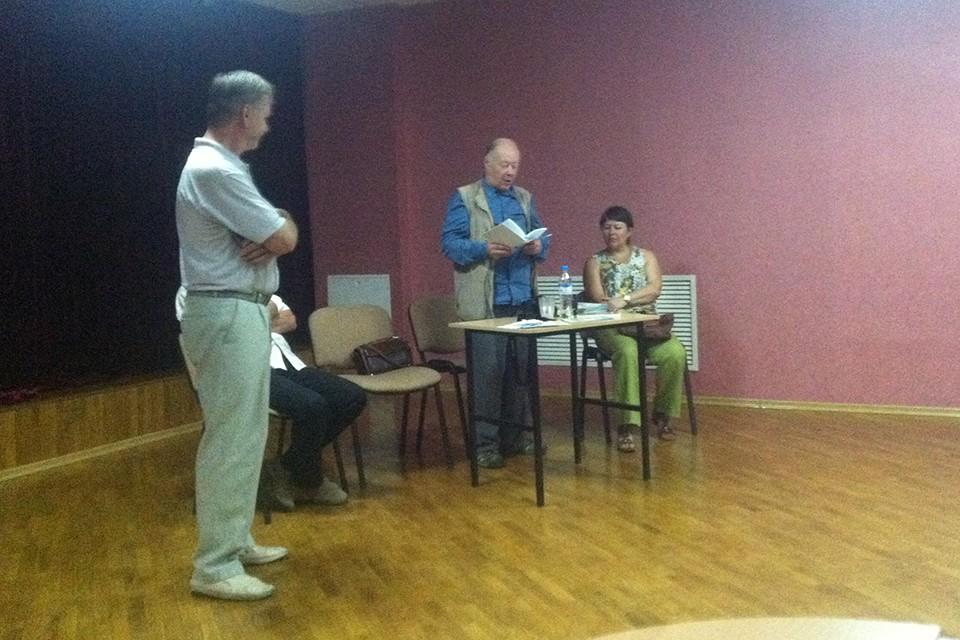 Творческая встреча с Виктором Яковлевичем Череватенко