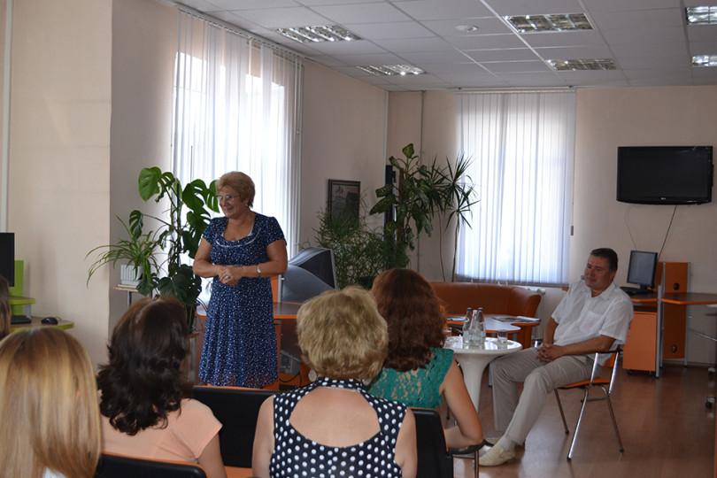 Встреча с депутатом Совета депутатов города Белгорода Игнатовой И. Б.
