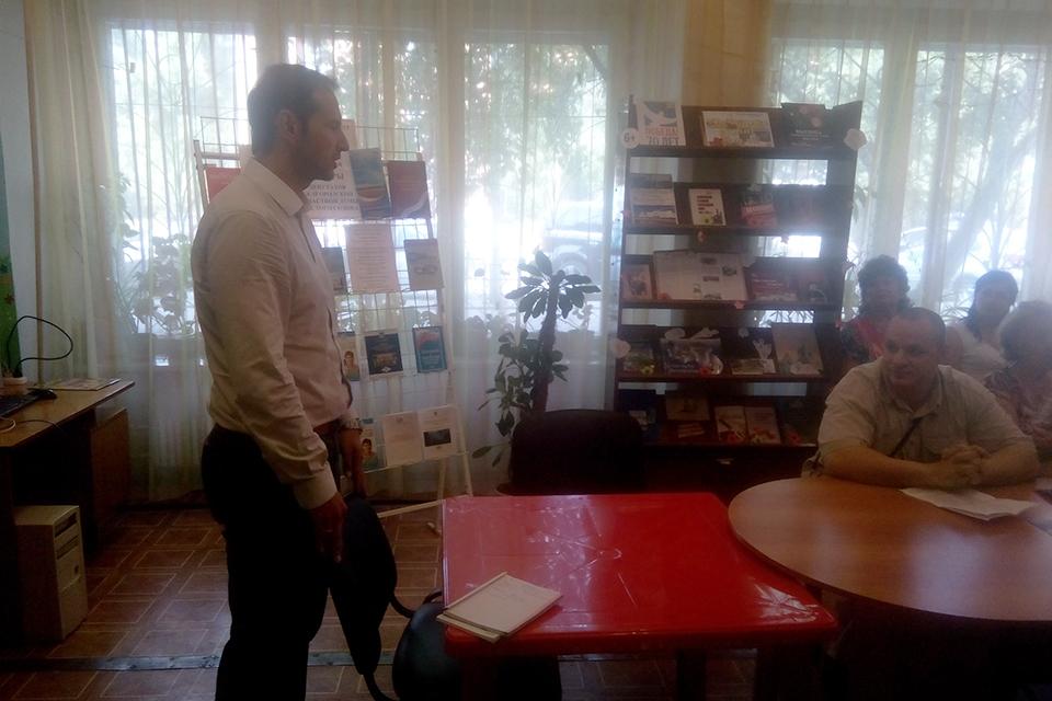 Встреча с депутатом Щегловым А. Ф.