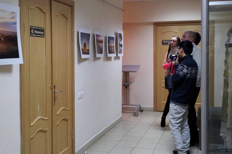 Открытие выставки «Наедине»
