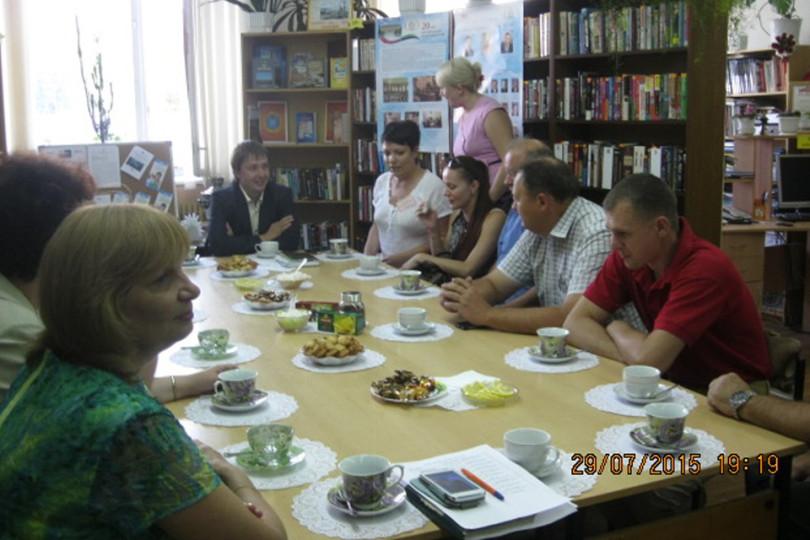 Встреча в библиотеке-филиале №17