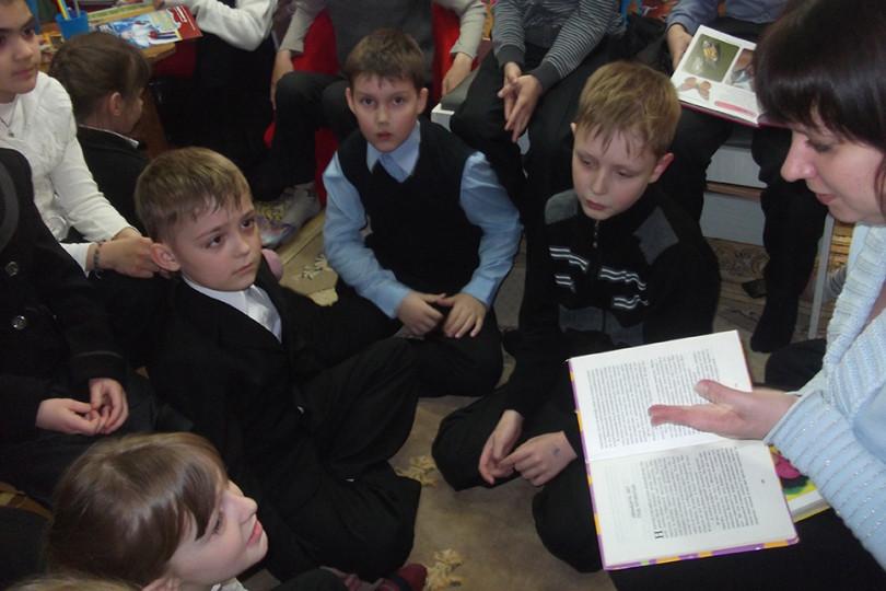Международный день детской книги в библиотеке №12
