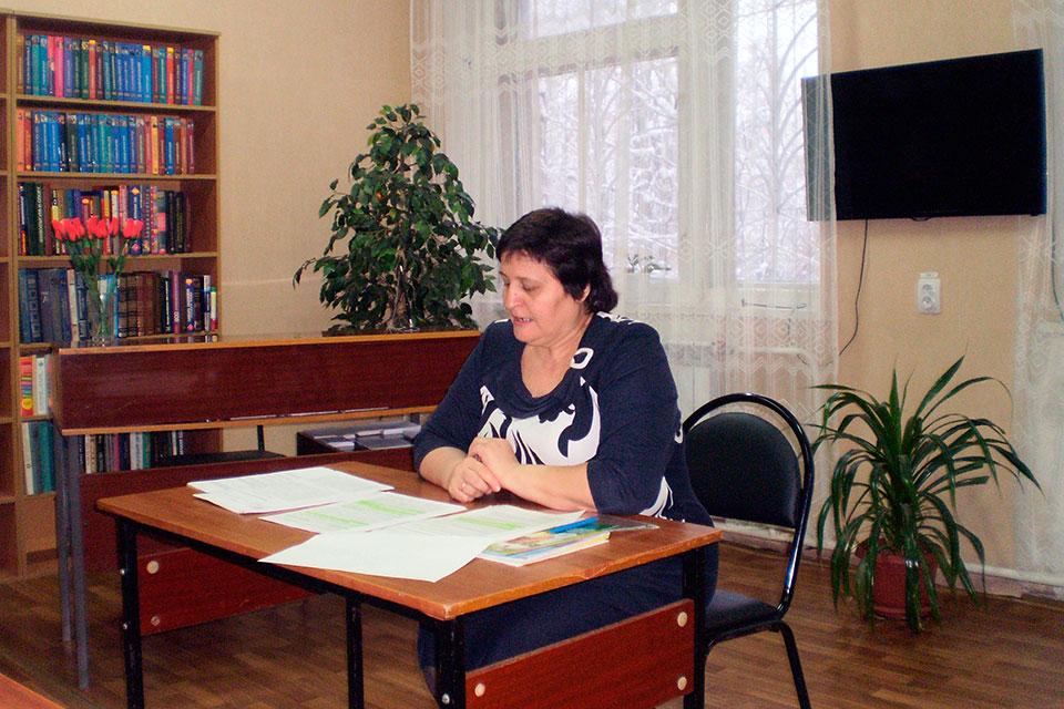 Встреча с заместителем главного врача Бугорской В. Н.