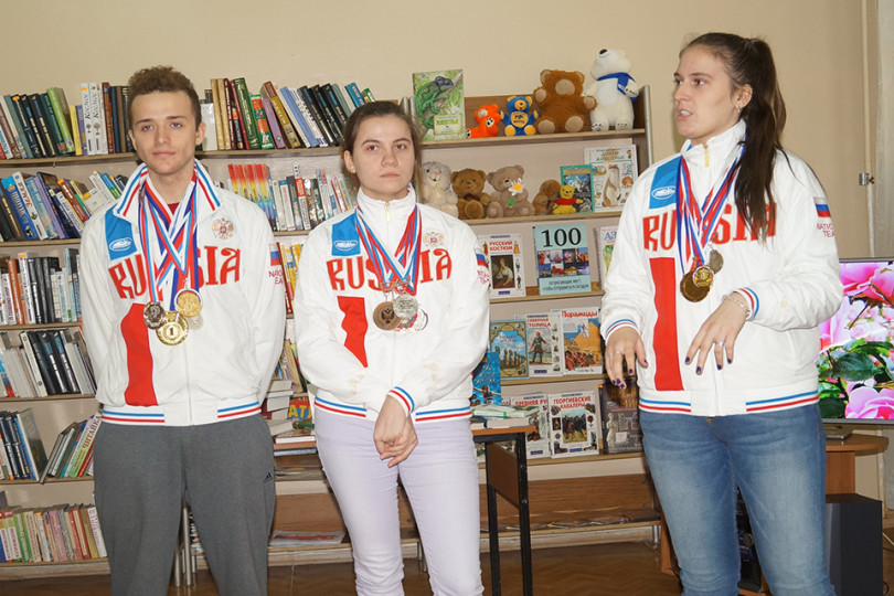 Библиотечно-спортивное состязание «Литературный марафон»
