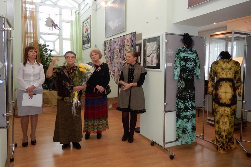 Открытие Рождественской выставки