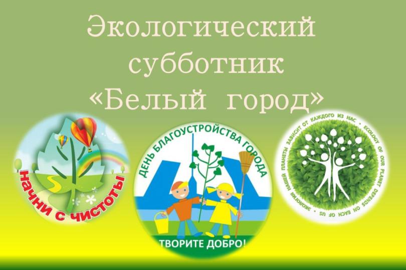 Экологический субботник «Белый город»