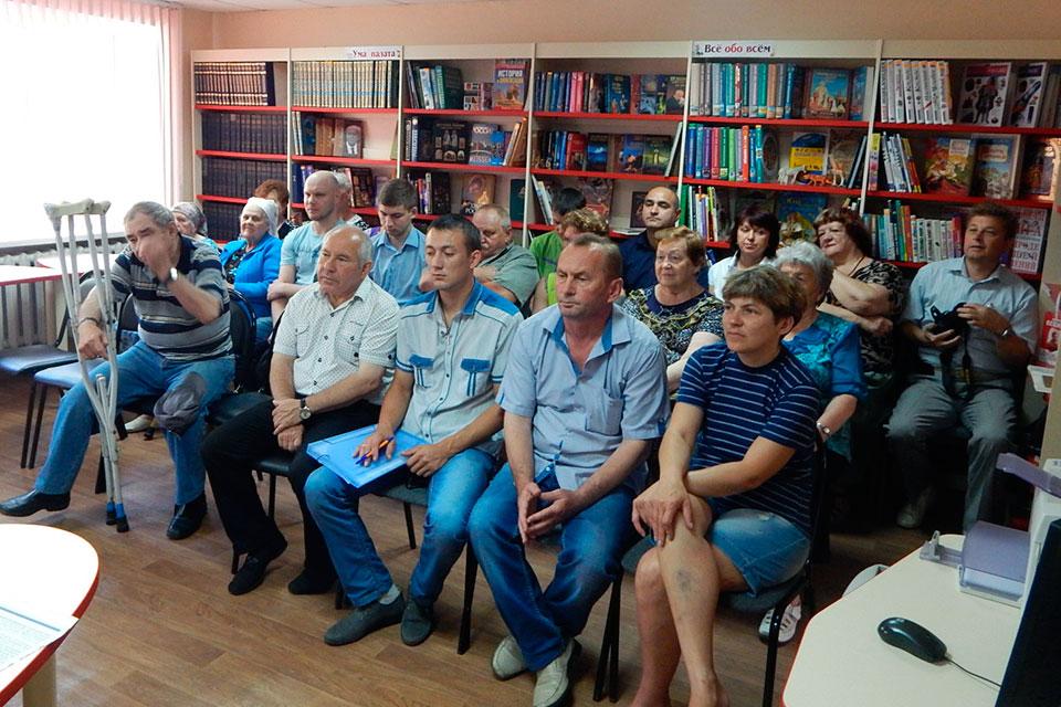 Встреча с депутатами Совета депутатов г. Белгорода