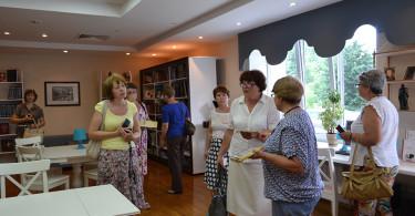 Встреча с коллегами из библиотек г. Тамбова и Тамбовской области