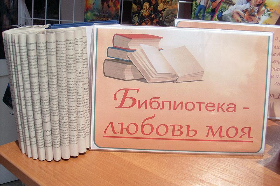 «Библиотека – любовь моя»
