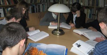 Заключительное заседание литературной студии «Щит и перо»