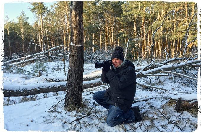 Персональная фотовыставка «Русская зима»