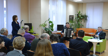 Открытие летературной студии «Щит и перо»