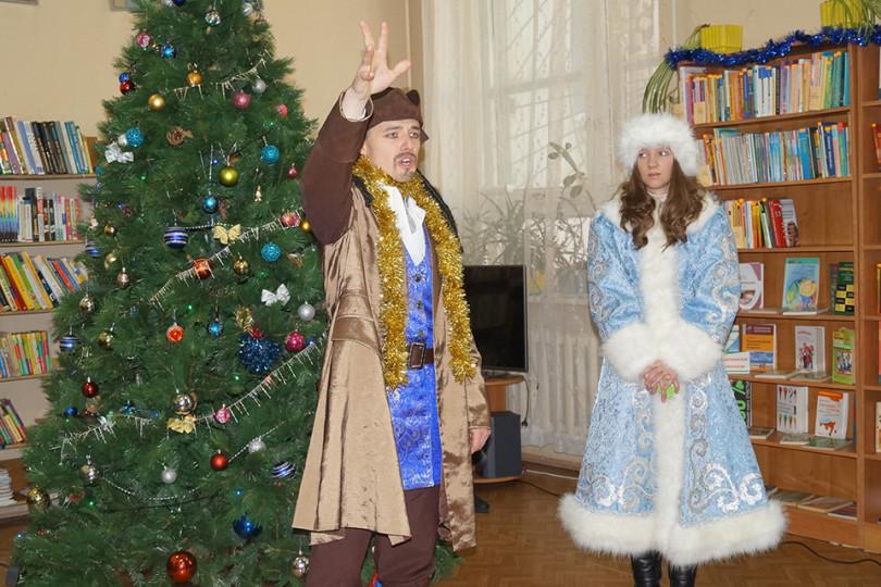 Новогодний праздник «Приключение в новогоднюю ночь»