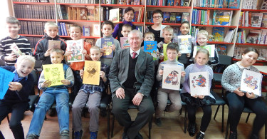 Неделя детской книги в библиотеке №8