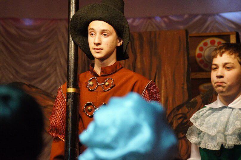 Спектакль «Маленькая ведьма»