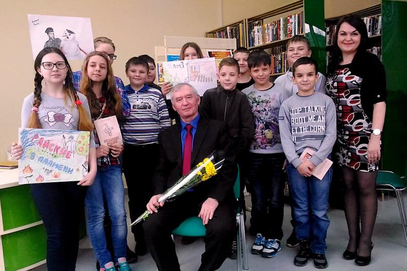 Творческая встреча с писателем Вячеславом Колесник