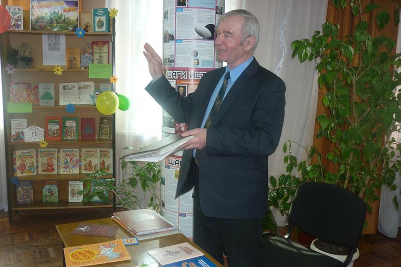 Встреча с белгородским писателем Вячеславом Колесник