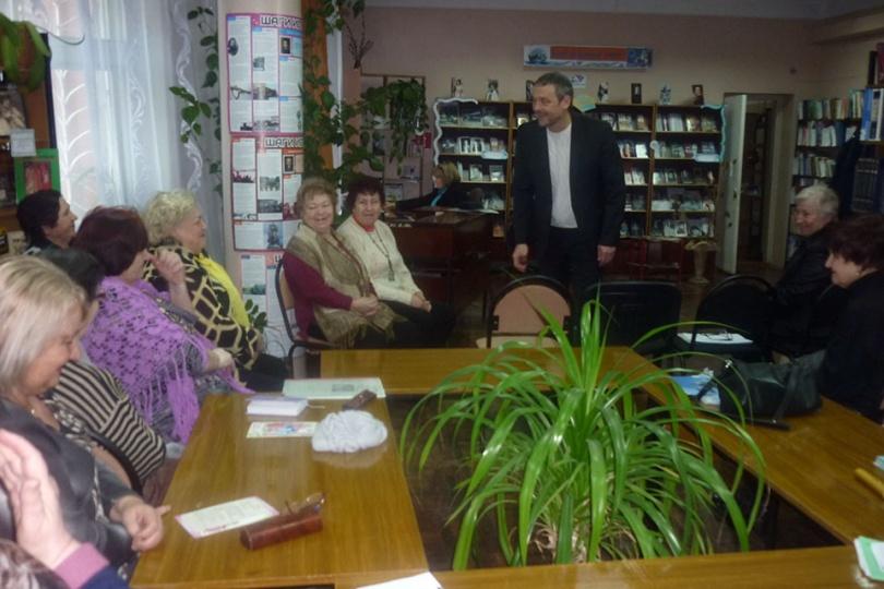 Встреча читателей с депутатом