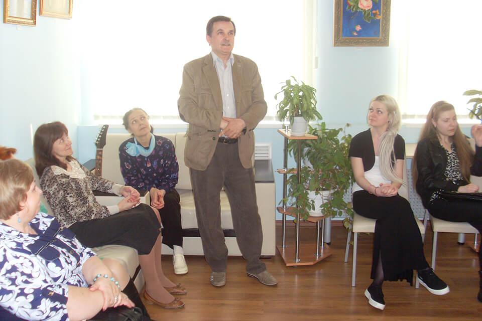 Презентация выставки Дины Кожемякиной
