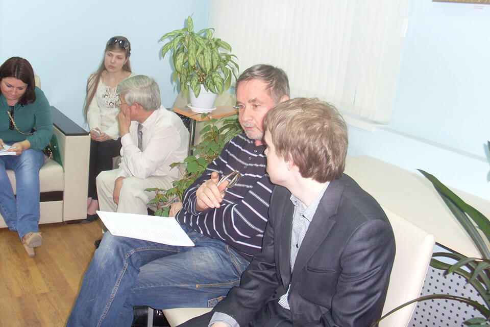 Встреча членов литературной студии «Слово»