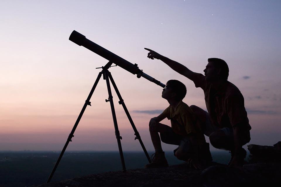 «Вечера тротуарной астрономии с Антоном Боровским»