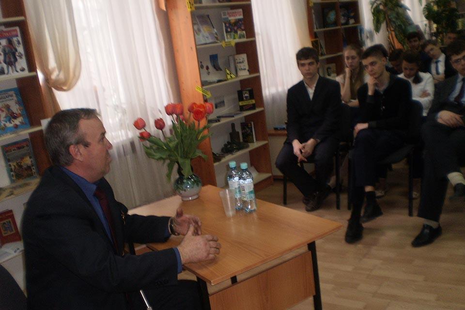 Встреча с Павлом Анатольевичем Белкиным