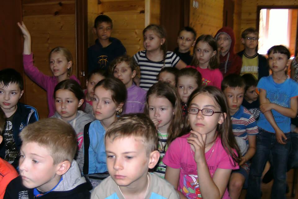 Библиотека в детских лагерях