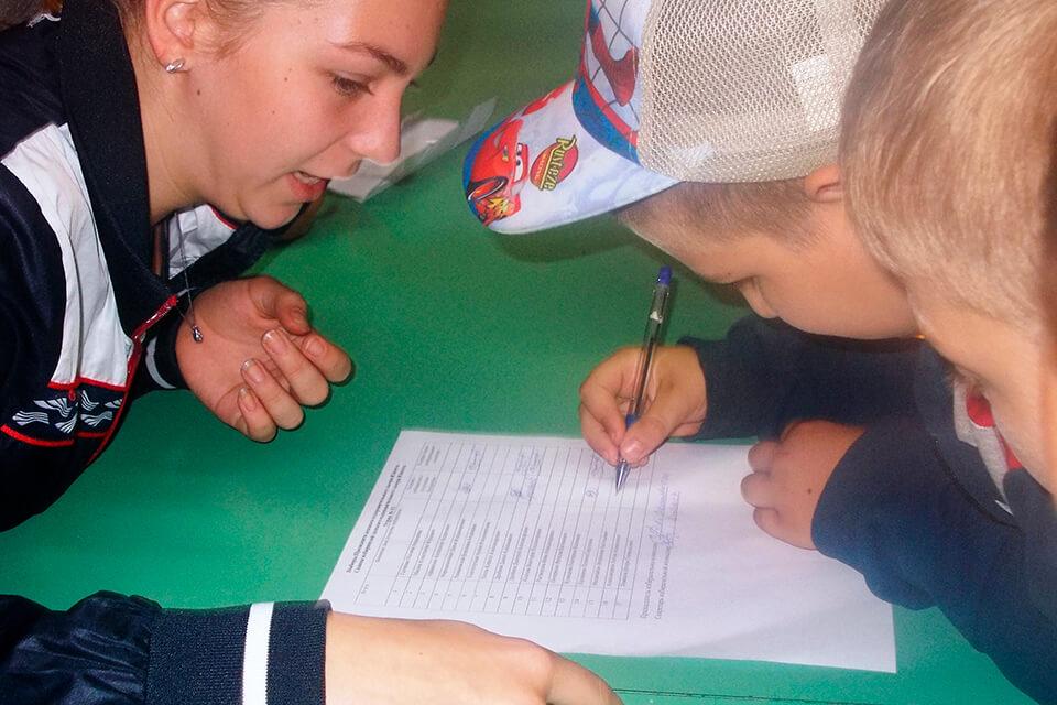 Выборы президента в детском лагере