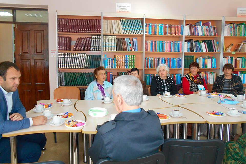 Встреча актива избирательного округа № 11
