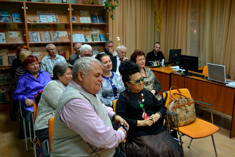 Заседание клуба «Светоч»