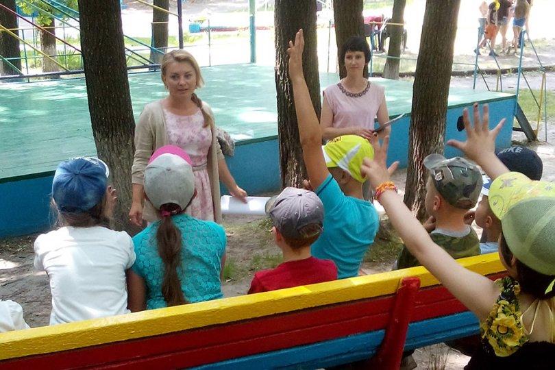 Парламентские игры в детских оздоровительных лагерях