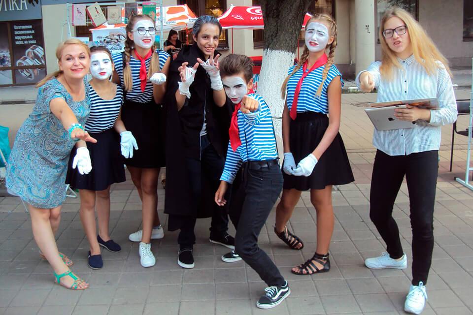 Четвертый фестиваль уличных искусств «Белая маска»