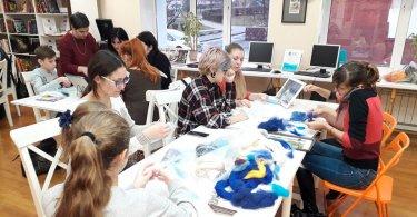 Мастер класс по созданию картин из шерсти