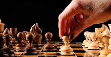 Шахматно-шашечный турнир в клубе «Ветеран»