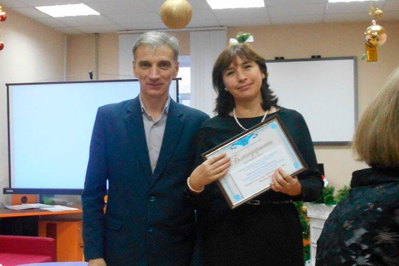 Встреча с председателем Избирательной комиссии г. Белгорода Д. В. Сиротенко