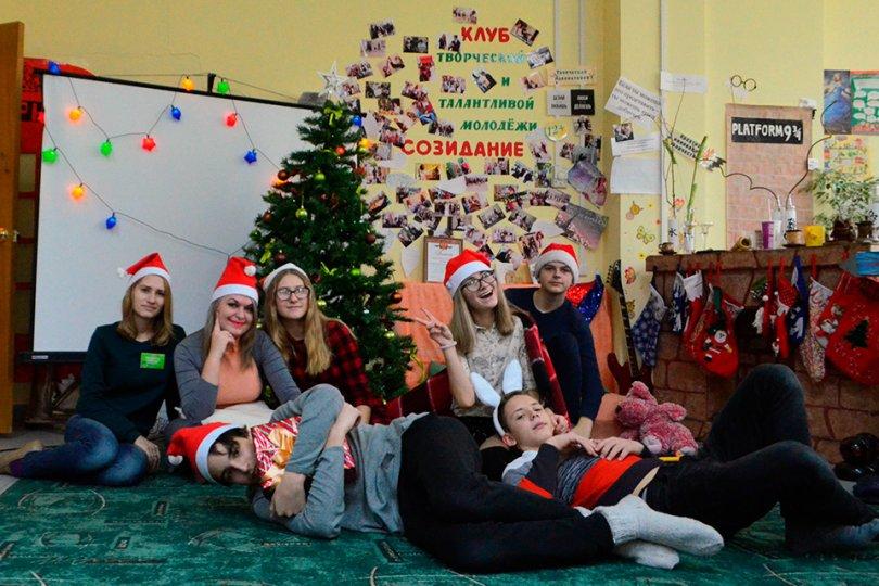 Новогодняя тематическая вечеринка в европейском стиле «В гостях у Санта Клауса»