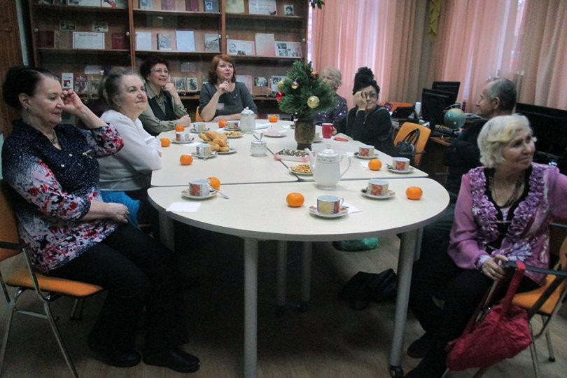 Заседание клуба «Ветеран»