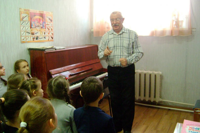 Мастер-класс композитора А.Н.Балбекова