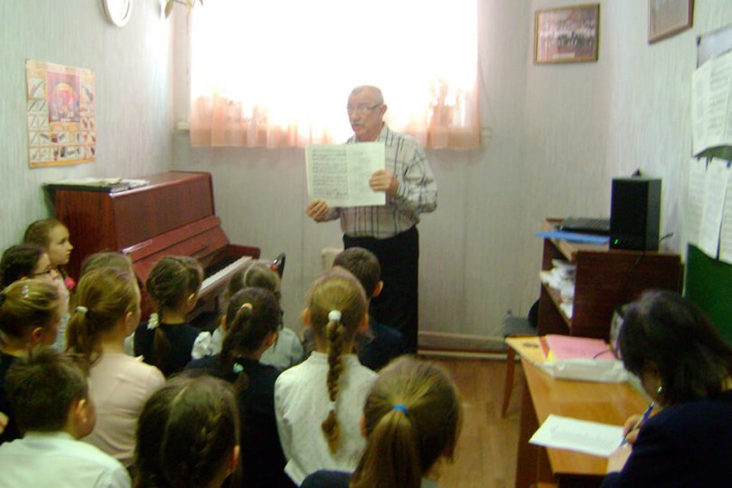 Мастер-класс композитора А. Н. Балбекова