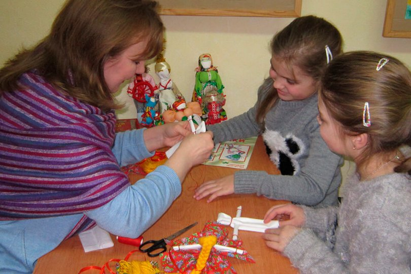 Мастер-класс по изготовлению куклы-оберега «Веснянка»