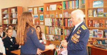 Встреча с капитаном вотставке, вертолетчиком, участником боевых действий вАфганистане ТыльнымА.П.