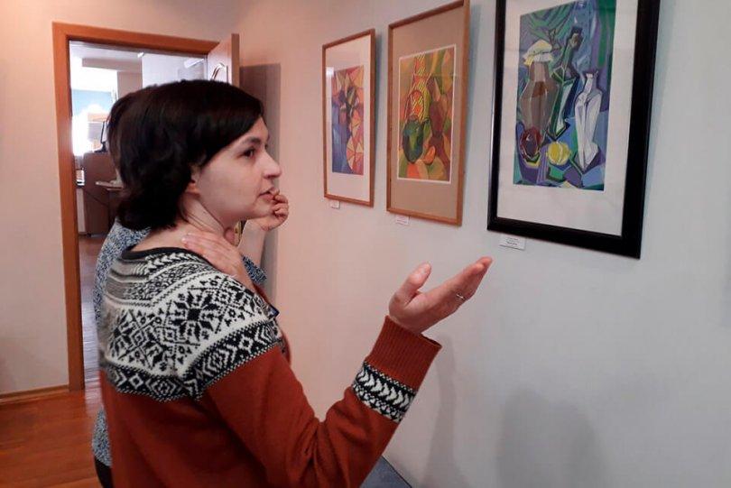Открытие выставки «Звуки и краски весны»