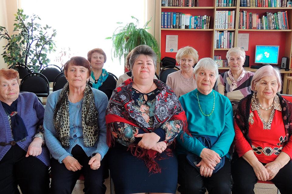 Встреча участников клуба «Золотой возраст»