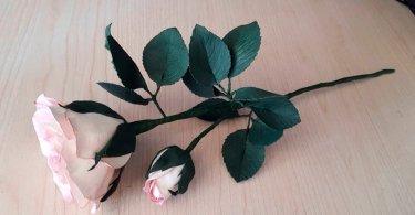 Мастер класс по изготовлению розы