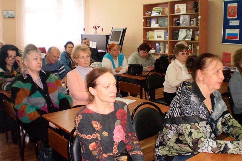 Встреча списательницей ЧернявскойИ.Н.