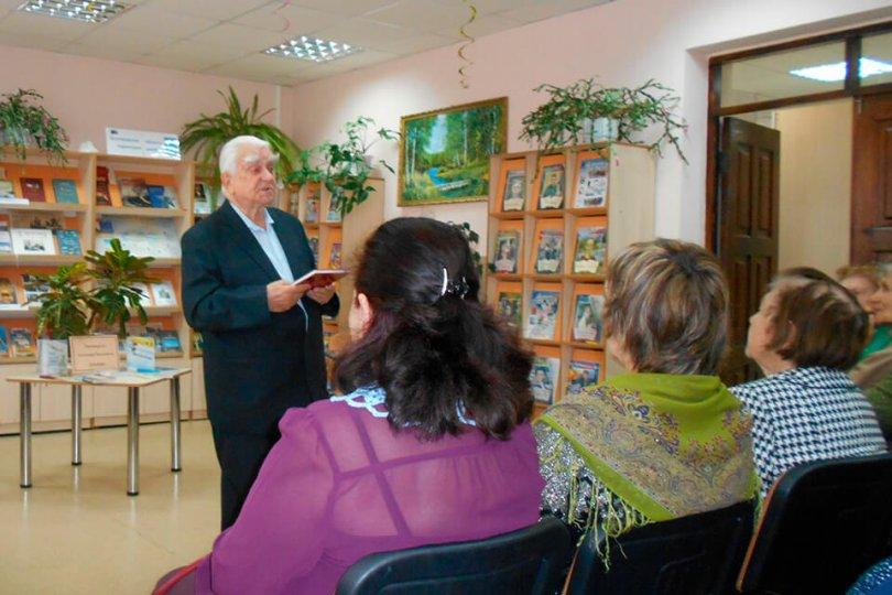 Встреча с белгородским писателем А. В. Дончаком