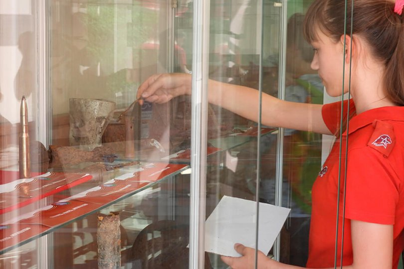 Открытие молодёжного историко-патриотического клуба «Родина»
